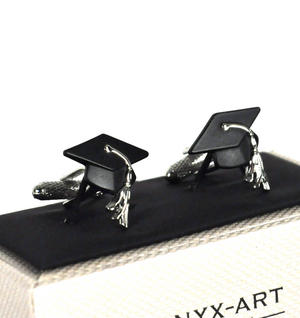 Cufflinks - Graduate Mortar Board Thumbnail 2