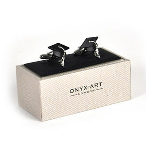 Cufflinks - Graduate Mortar Board Thumbnail 3