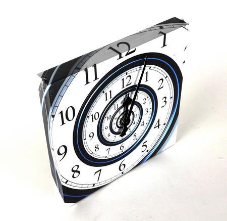 Infinite Spiral Wall Clock