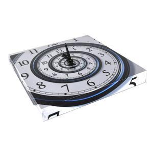 Infinite Spiral Wall Clock Thumbnail 4