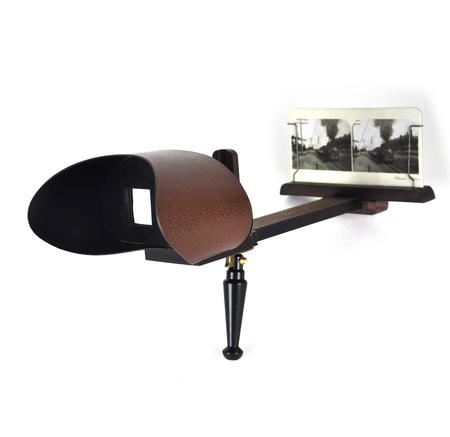 Stereoscope - Hemispherium Antique Panorama Viewer