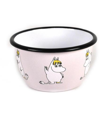 Moomin Snork Maiden Muurla Enamel Bowl