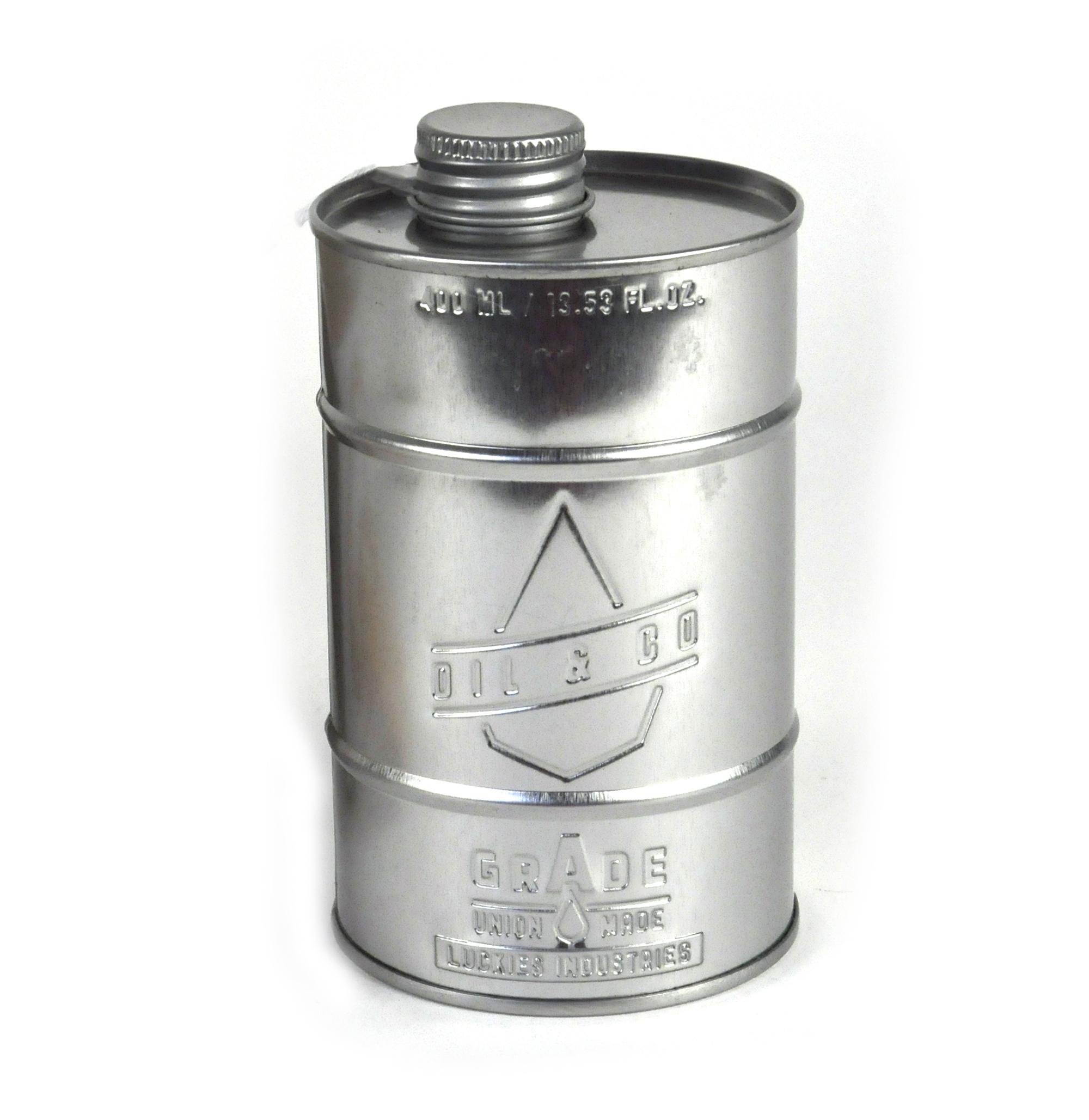 Grade A Kitchen Oil - Retro Oil Silver Can