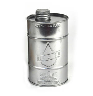 Grade A Kitchen Oil - Retro Oil Silver Can Thumbnail 1
