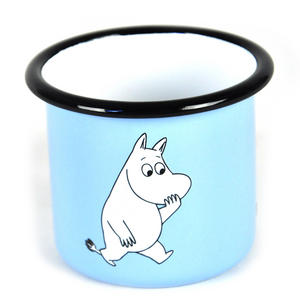 Moomintroll on Light Blue - Junior  25 cl Moomin Muurla Enamel Mug Thumbnail 3