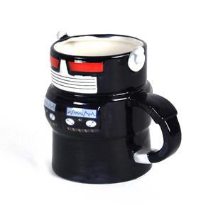 Robot Mug - Retro Blue Thumbnail 2