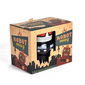 Robot Mug - Retro Blue Thumbnail 3