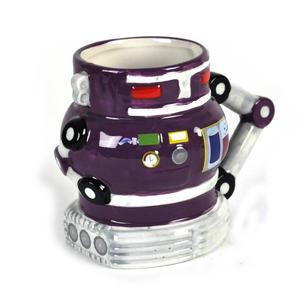 Robot Mug - Retro Purple Thumbnail 1