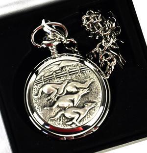 Greyhounds Pocket Watch Thumbnail 2
