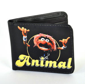 Animal Muppets Black Wallet