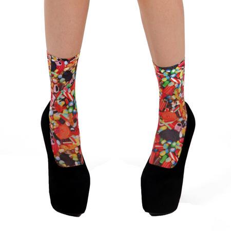 Sweeties / Candies  Ankle Socks by Pamela Mann