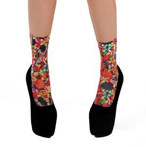 Sweeties / Candies  Ankle Socks by Pamela Mann Thumbnail 1