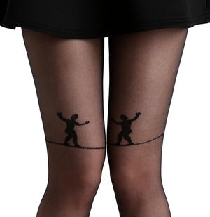 Tightrope Walker - Pamela Mann Tights Thumbnail 1