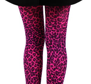 Small Leopard Flo Pink - Pamela Mann Tights Thumbnail 3