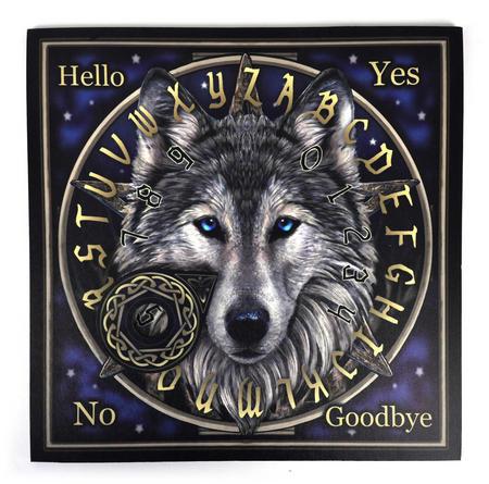 "Wolf Spirit Board - 36cm / 14"" Ouija Board and Pointer"
