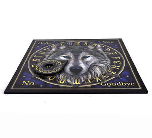 "Wolf Spirit Board - 36cm / 14"" Ouija Board and Pointer Thumbnail 4"