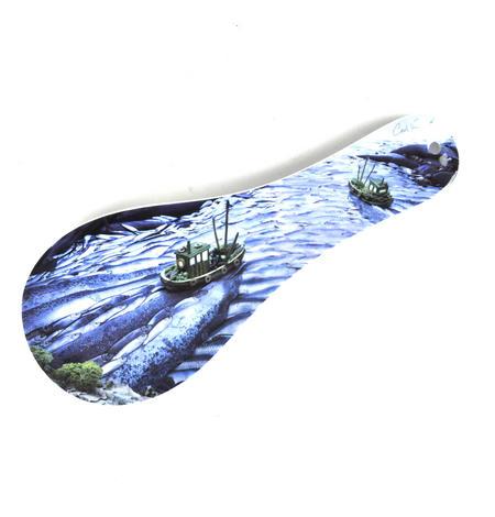 Trawler - Foodscape by Carl Warner - Melamine Spoon Rest