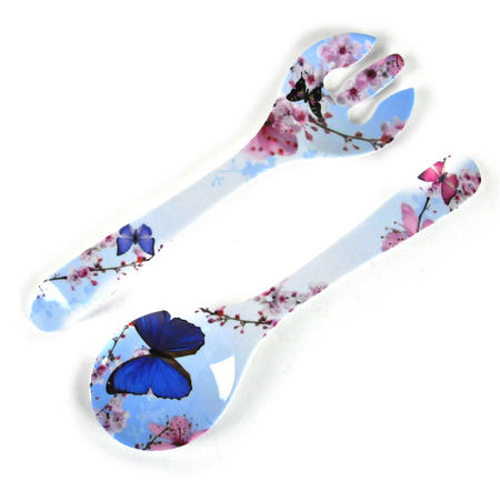 Butterflies - Melamine Salad Servers