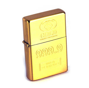 Gold Ingot 999.9 Windproof Lighter Thumbnail 2