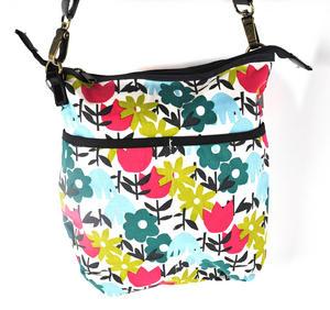 Daytime Flower Garden Messenger  Bag Thumbnail 2