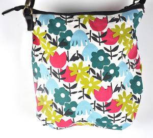 Daytime Flower Garden Messenger  Bag Thumbnail 3