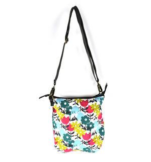 Daytime Flower Garden Messenger  Bag Thumbnail 4