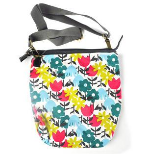 Daytime Flower Garden Messenger  Bag Thumbnail 7