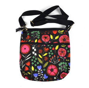 Night-time Flower Garden Messenger Bag Thumbnail 2