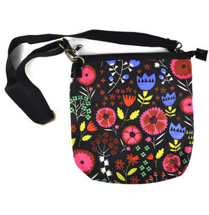 Night-time Flower Garden Messenger Bag Thumbnail 3
