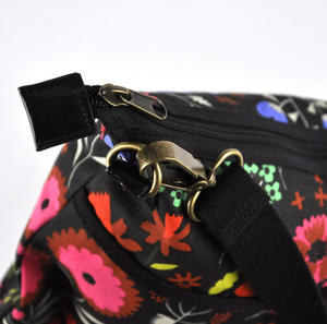 Night-time Flower Garden Messenger Bag Thumbnail 5