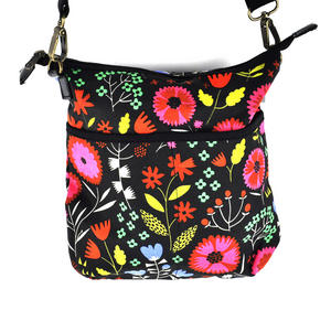 Night-time Flower Garden Messenger Bag Thumbnail 6