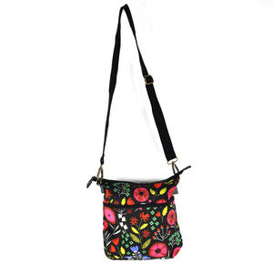 Night-time Flower Garden Messenger Bag Thumbnail 7