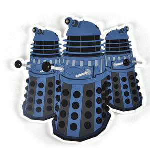 Doctor Who Daleks - Industrial PVC Coaster