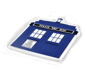 Doctor Who Tardis - Industrial PVC Coaster Thumbnail 2