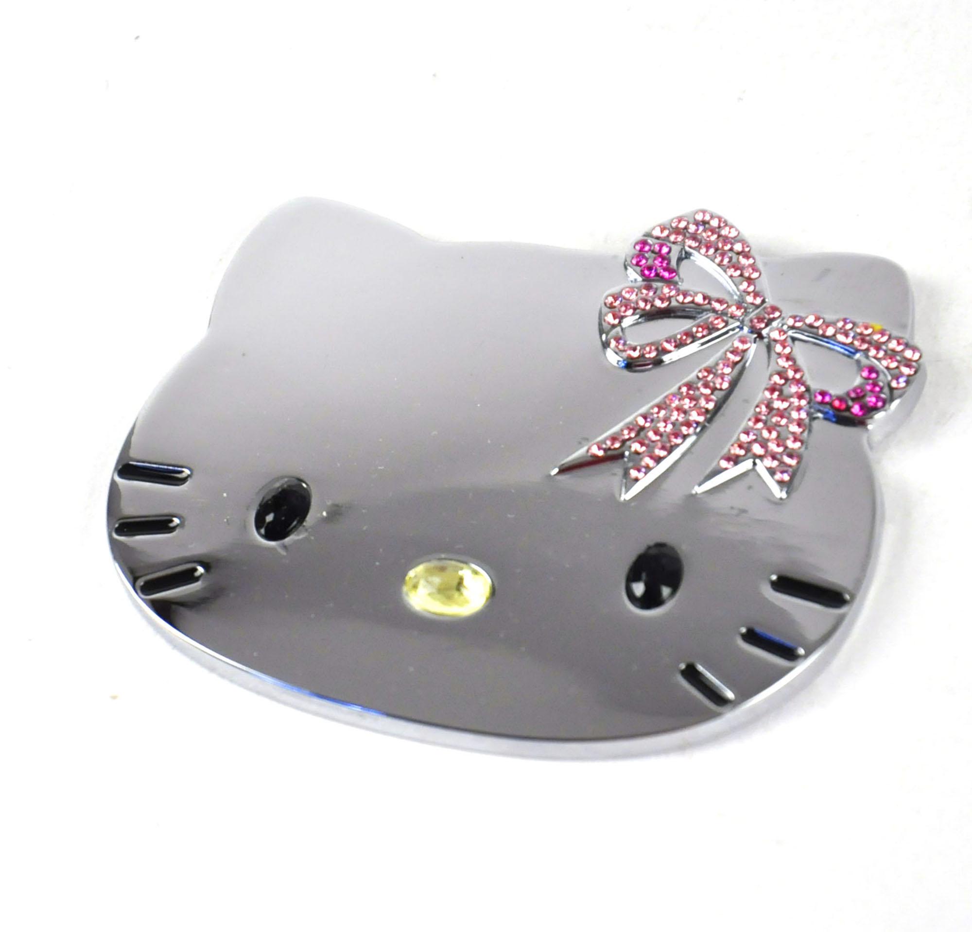 Hello Kitty High Polish Metal Compact Handbag Mirror
