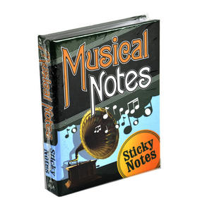 Musical Notes - Sticky Notes Thumbnail 1