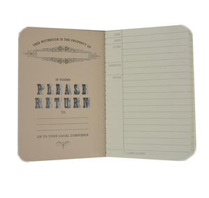 Sherlock Holmes Passport Pocket Notebook Thumbnail 3