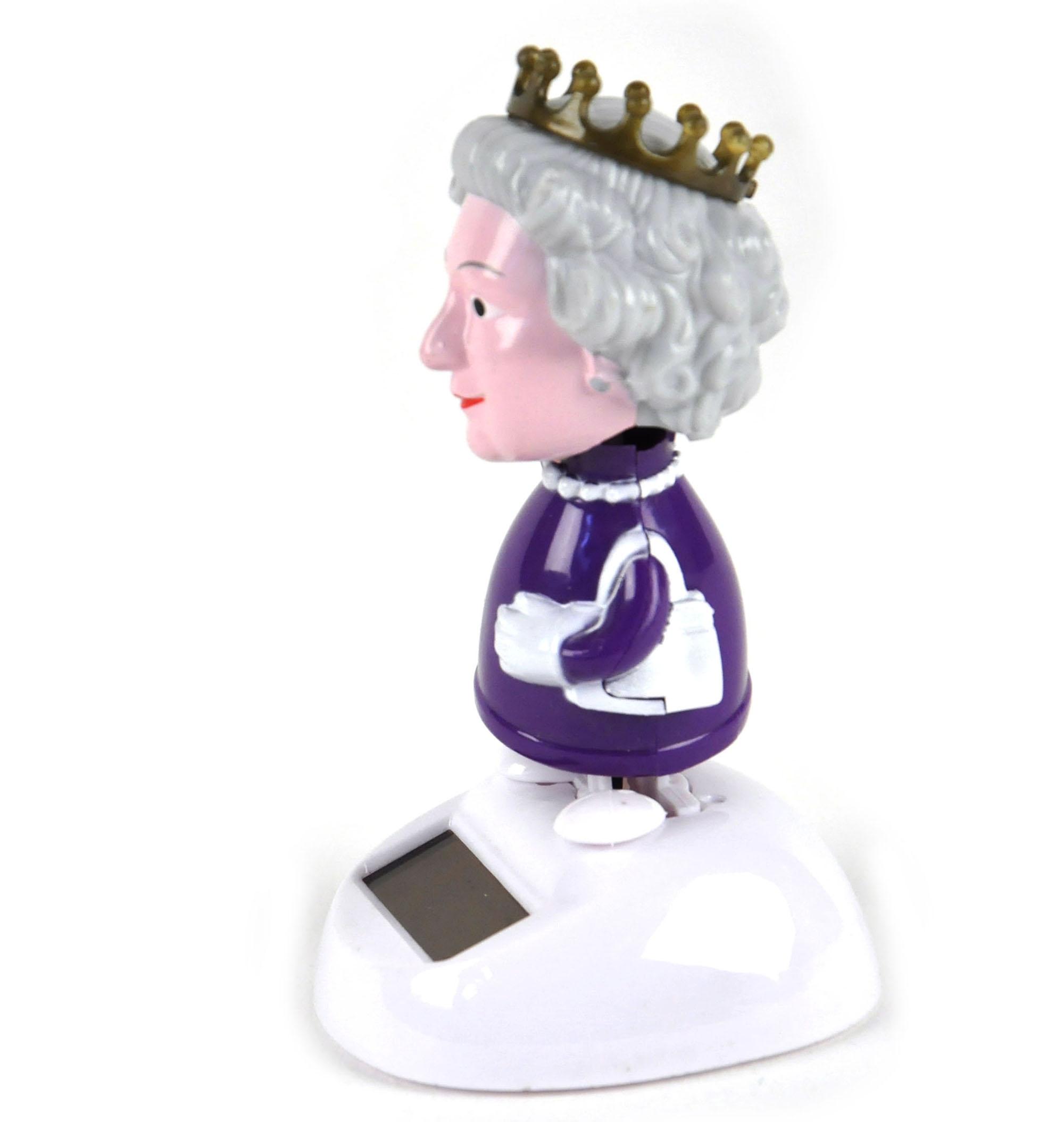 Mini Solar Queen Elizabeth II