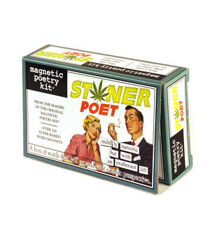 Stoner Poet - Fridge Magnet Poetry Set - Fridge Poetry Thumbnail 2