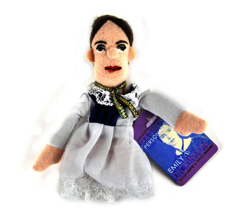 Emily Dickinson Finger Puppet & Fridge Magnet