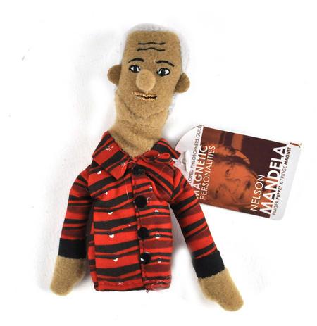 Nelson Mandela Puppet & Fridge Magnet