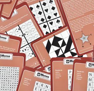 Mensa Genius Test - Large Format Card Set Thumbnail 2