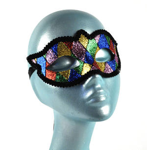 Harlequin Eye Mask - Random Designs
