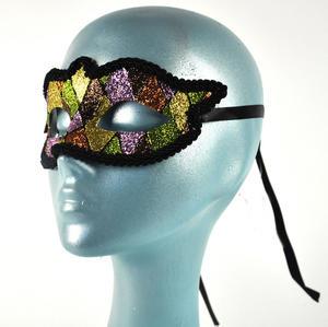 Harlequin Eye Mask - Random Designs Thumbnail 3