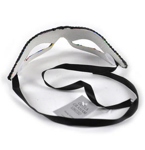 Harlequin Eye Mask - Random Designs Thumbnail 7