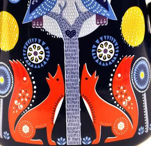 Night Time Folklore Coffee Enamel Pot Thumbnail 3
