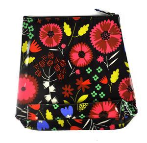 Night-time Flower Garden - Tall Make Up Bag / Wash Bag Thumbnail 1