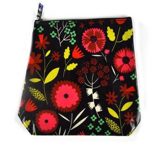Night-time Flower Garden - Tall Make Up Bag / Wash Bag Thumbnail 2