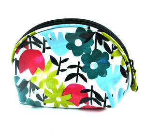 Daytime Flower Garden - Half Moon Make Up Bag Thumbnail 2