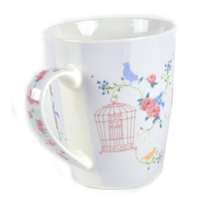 Bird and Cage Bone China Mug by Jan Pashley Thumbnail 3
